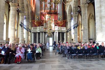 Twee gemeenten samen in de Laurenskerk