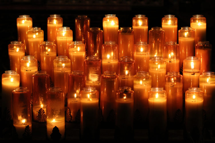 Kaarsen (foto:flickr/krezk)