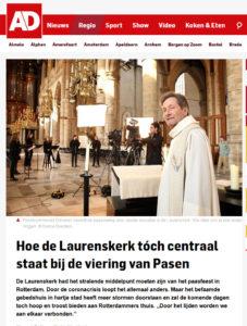 Harold Schorren in de het Algemeen Dagblad, 9 april 2020