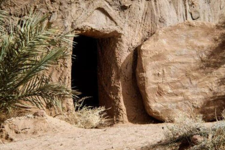 Het open graf